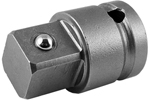 APEX EX-623-B Straight Adapter, 1/2'' Square Drive, Ball Lock