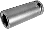 APEX FL-3216 1/2'' Long Impact Socket, Fast Lead, 3/8'' Square Drive