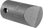 HTS-4 Apex #4 Hi-Torque Insert Bit, 1/4'' Square Drive