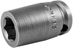 APEX M-10MM13 10mm Standard Impact Socket, Magnetic, 3/8'' Square Drive