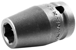 APEX M-10MM15 10mm Standard Impact Socket, Magnetic, 1/2'' Square Drive