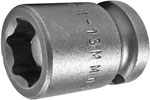 APEX M-13MM03 13mm Short Impact Socket, Magnetic, 3/8'' Square Drive
