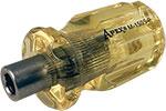 APEX M-1505-P 2 3/8'' Replaceable Bit Driver, 1/4'' Hex Bits, Magnetic