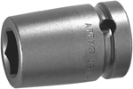 APEX M-18MM15 18mm Standard Impact Socket, Magnetic, 1/2'' Square Drive