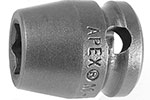 M-3012 Apex 3/8'' Magnetic Short Socket, 3/8'' Square Drive