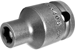 APEX M-3408 1/4'' Standard Impact Socket, Magnetic, Thin Wall, 3/8'' Square Drive