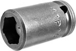 APEX M1P10 5/16'' Impact Socket, Magnetic, For Sheet Metal Screw, Self-Drilling And Tapping Screws, 1/4'' Square Drive