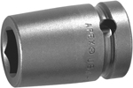 M5E18 Apex 9/16'' Magnetic Socket, For Sheet Metal Screws, Predrilled Holes, 1/2'' Square Drive