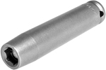APEX MB-10MM33 10mm Extra Long Impact Socket, Magnetic Bolt Clearance, 3/8'' Square Drive