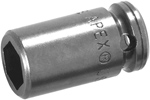 MX-1109 Apex 9/32'' X-Hard Magnetic Standard Socket, 1/4'' Square Drive