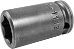 MX-1112 Apex 3/8'' X-Hard Magnetic Standard Socket, 1/4'' Square Drive