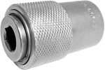QRF-14 1/2''-20 Apex Brand Female Threaded Drive Bit Holder, Quick Releasing Chuck