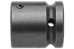 APEX RP-520 Bit Holder 5/8 to 1/2 Adapter With Spring Pin Retainer, 1/4'' Square Drive