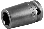 SF-10MM13 Apex 10mm Surface Drive Metric Standard Socket, 3/8'' Square Drive