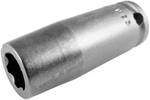 APEX SF-10MM23 10mm Long Impact Socket, Surface Drive, 3/8'' Square Drive