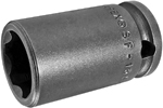 SF-15MM13 Apex 15mm Surface Drive Metric Standard Socket, 3/8'' Square Drive