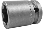 APEX SF-19MM15 19mm Standard Impact Socket, Surface Drive, 1/2'' Square Drive