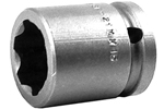APEX SF-21MM15 21mm Standard Impact Socket, Surface Drive, 1/2'' Square Drive