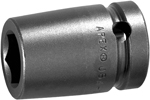 APEX SF-22MM16 22mm Standard Impact Socket, Surface Drive, 5/8'' Square Drive