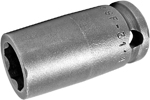 APEX SF-3114 7/16'' Standard Impact Socket, Surface Drive, 3/8'' Square Drive