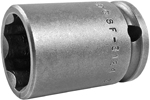 APEX SF-3124 3/4'' Standard Impact Socket, Surface Drive, 3/8'' Square Drive