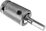 SZ-3-7-5MM 3/8'' Apex Brand Socket Head (Hex-Allen) Bits With Drive Adapters, Metric