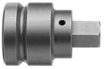 APEX SZ-36 1'' Socket Head Bits With Drive Adapters, 3/4'' Drive
