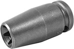 TX-1112 Apex E-12 Torx Socket, For External Screws, 1/4'' Square Drive