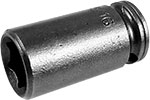 X-1110 Apex 5/16'' X-Hard Standard Socket, 1/4'' Square Drive