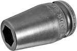 ZA-310 3/8'' Apex Brand Straight Grease Fitting Socket