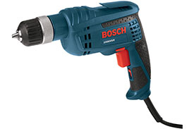 1006VSR Bosch 3/8'' Jacobs Ratcheting Keyless Chuck Variable Speed Drill