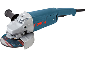1772-6 Bosch 7'' Angle Grinder, 15 Amp w/ Lock-on Trigger Switch