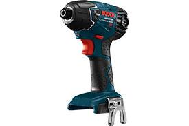 25618B Bosch 18V Impact Driver, 1/4'' Hex, Bare Tool