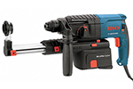 11250VSRD Bosch 3/4'' SDS-Plus Rotary Hammer, Pistol Grip w/ Dust Collection