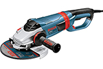 1994-6 Bosch 9'' Large Angle Grinder, 15 Amp w/ Lock-on Trigger Switch