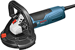 CSG15 Bosch 5'' Concrete Surfacing Grinder, 12.5 Amp w/ Dust Collection Shroud