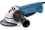 GWS10-45PE Bosch 4-1/2'' Angle Grinder, 10 Amp w/ Lock-on Paddle Switch