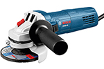 GWS9-45 Bosch 4-1/2'' Angle Grinder, 8.5 Amp w/ Lock-on Slide Switch