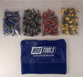 SSL4S100 No-Mar Sheet Metal Fasteners 100 Piece Kit w/ Carry Bag