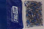 SEL2S100-5/32 No-Mar 5/32'' Skin Pins 100 Piece Kit w/ Carry Bag