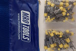 SEL2S50-1/8 No-Mar 1/8'' Skin Pins 50 Piece Kit w/ Carry Bag