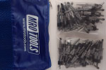 SEL2S50-3/16 No-Mar 3/16'' Skin Pins 50 Piece Kit w/ Carry Bag