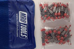 SEL2S50-3/32 No-Mar 3/32'' Skin Pins 50 Piece Kit w/ Carry Bag