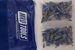 SEL2S50-5/32 No-Mar 5/32'' Skin Pins 50 Piece Kit w/ Carry Bag