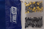 SEL3S100-1 No-Mar 50 1/8'' & 50 3/16'' Skin Pins Kit w/ Carry Bag