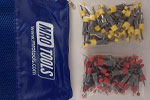 SEL3S100-3 No-Mar 50 1/8'' & 50 3/32'' Skin Pins Kit w/ Carry Bag