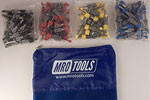 SEL4S100 No-Mar Skin Pins 100 Piece Kit w/ Carry Bag