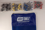 SEL5S40 No-Mar Skin Pins 50 Piece Kit w/ Carry Bag