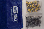SSL3S50-1 No-Mar 25 1/8'' & 25 3/16'' Sheet Metal Fasteners Kit w/ Carry Bag
