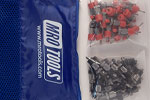 SSL3S50-5 No-Mar 25 3/16'' & 25 3/32'' Sheet Metal Fasteners Kit w/ Carry Bag